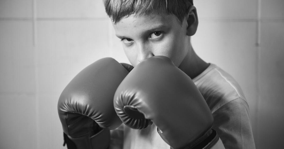 boxing teen