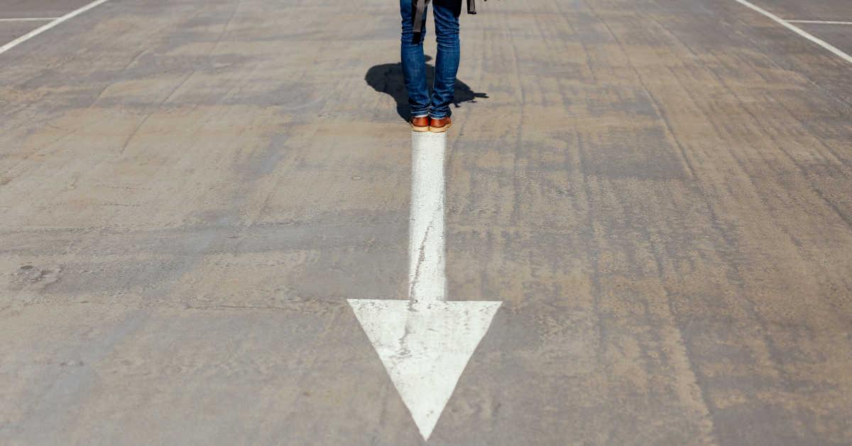 Standing on an Arrow