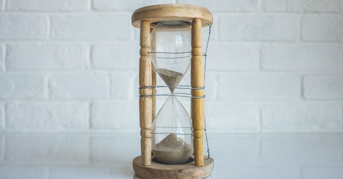 Sand hour glass